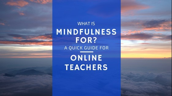 mindfulness for teachers