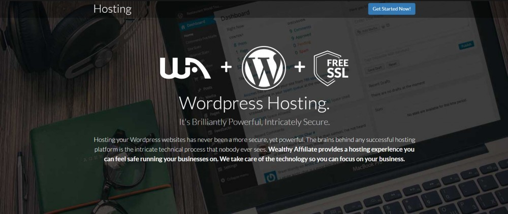 wealthy affiliate wordpress hosting