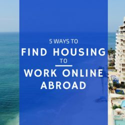 5 ways to find housing work online abroad