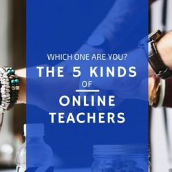 5 kinds of online teachers title photo