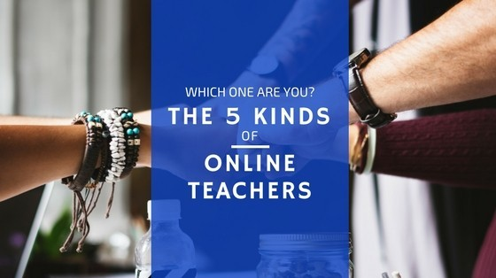 5 kinds of online teachers title photo