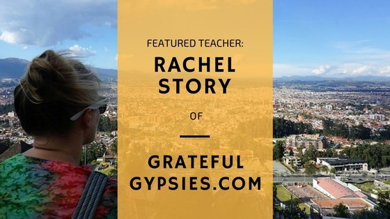 featured teacher rachel story of grateful gypsies