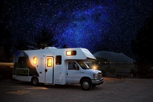 RV with stars
