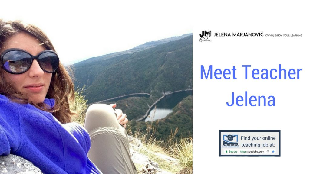 Freelance Online ESL Teacher Jelena
