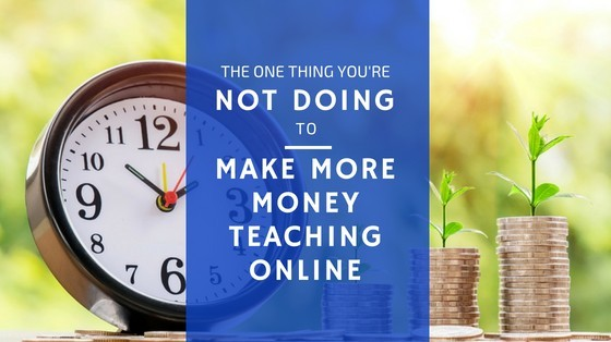 make money teaching online banner